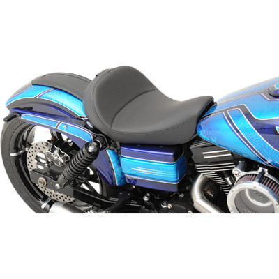 Drag Specialties Solo Seat with Backrest Option for 2006-2017 Harley Dyna