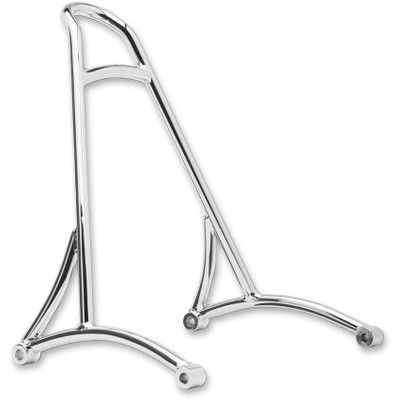 Burly Short Sissy Bar for 1996-2003 Harley Sportster - Chrome
