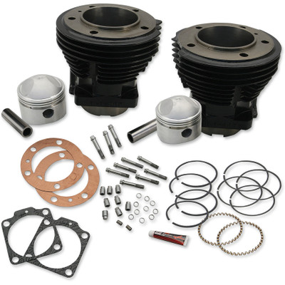S&S Stock Bore Cylinder and Stroker Kit for 1966-1984 Harley Shovelhead