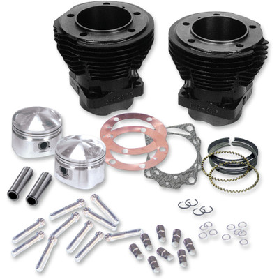 "S&S 3-5/8"" Big Bore Cylinder and Stroker Piston Kit for 1966-1984 Harley Shovelhead"