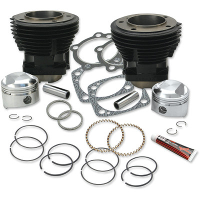 S&S Stock Bore Cylinder and Standard Compression Piston Kit for 1979-1984 Harley Shovelhead
