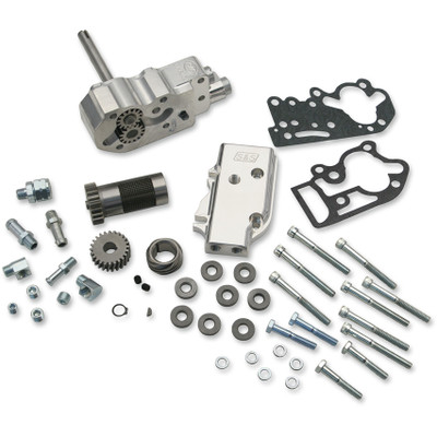 S&S Billet Oil Pump Kit with Universal Cover or 1970-1977 Harley Shovelhead