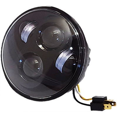 """Pathfinder 5-3/4"""" LED Headlight - Black"""