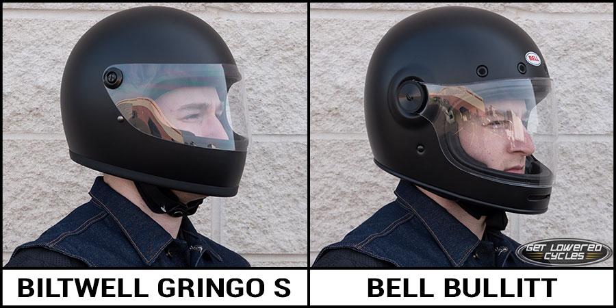 Biltwell Gringo S And Bell Bullitt Helmet Comparison Get