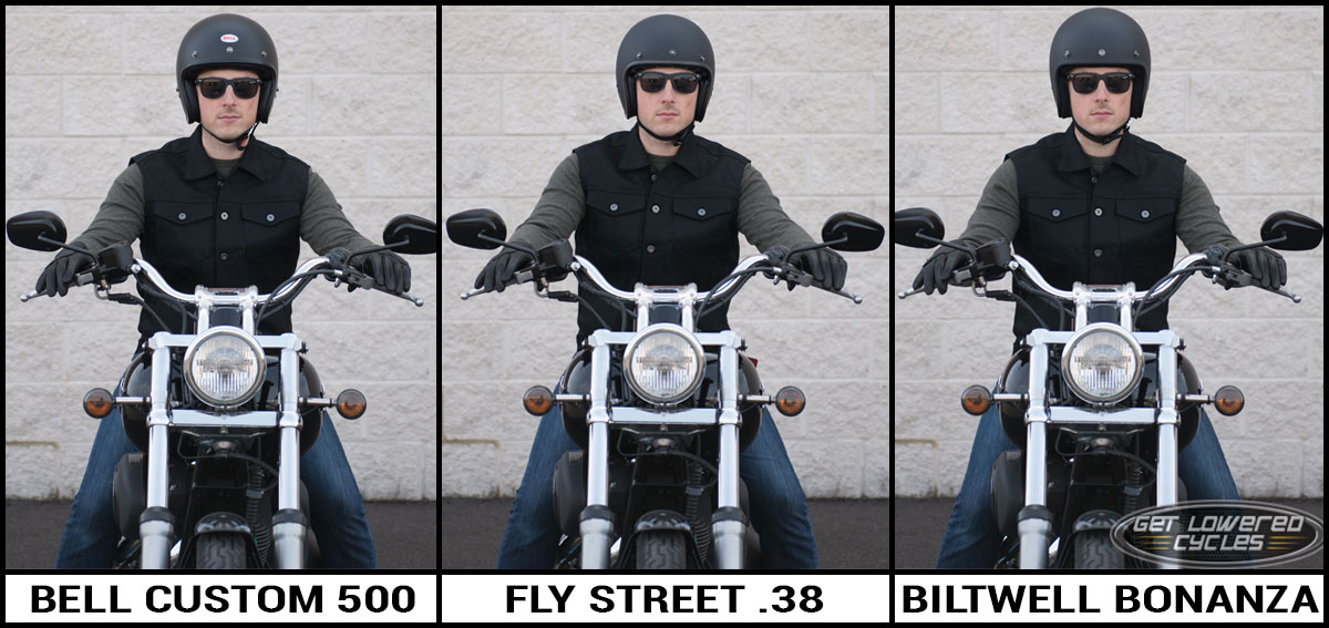Open Face Motorcycle Helmet Style And Fit Comparison Get