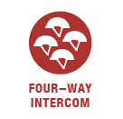 Four-Way Intercom