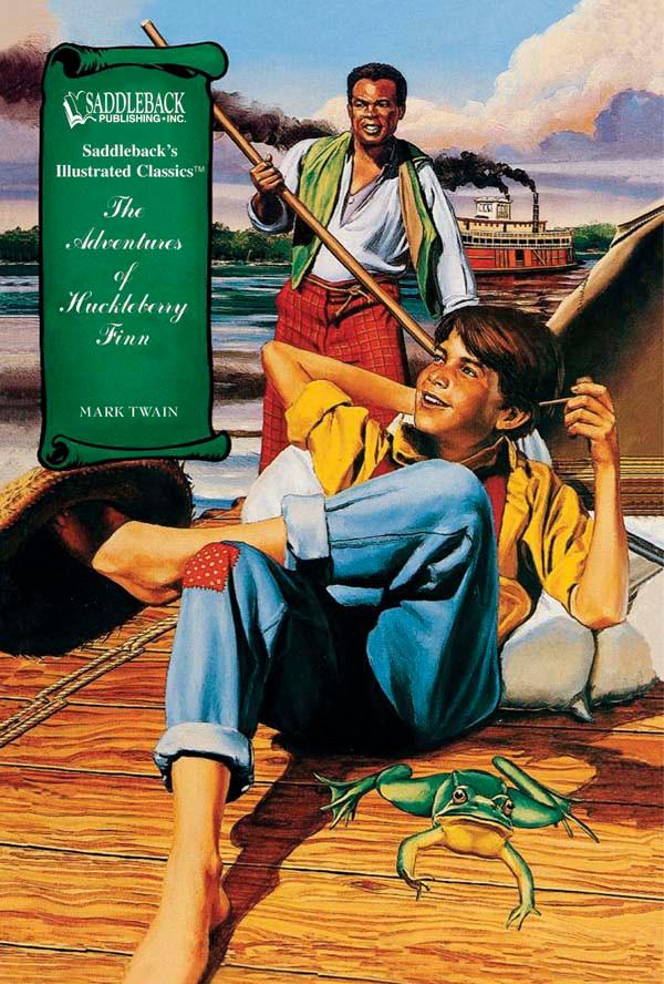 The Adventures Of Huckleberry Finn Graphic Novel Mark