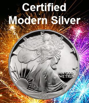 Certified Modern Silver