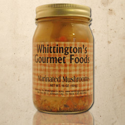 Whittington's Gourmet Foods - Marinated Mushrooms