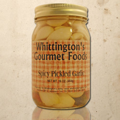 Whittington's Gourmet Foods - Spicy Pickled Garlic