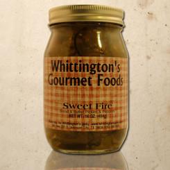Whittington's Gourmet Foods - Sweet Fire Bread & Butter Pickles