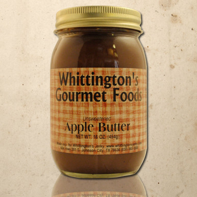 Whittington's Gourmet Foods - Apple Butter, No Sugar Added