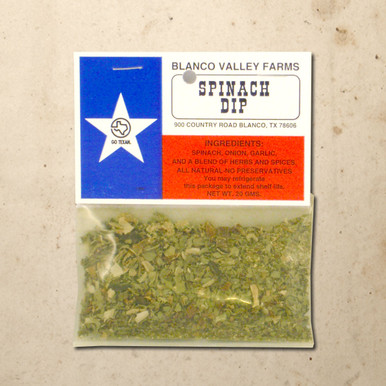 Whittington's Gourmet Foods - Blanco Valley Farms Spinach Dip Mix