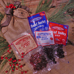 Whittington's Jerky Gift Baskets - Bag 'o Jerky - Main Line Jerky Recipes