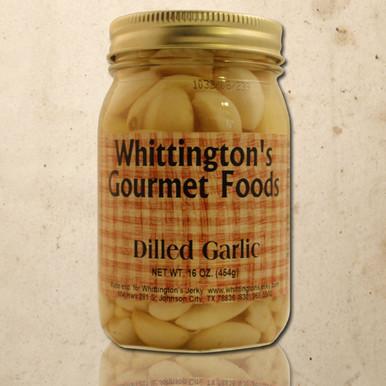 Whittington's Gourmet Foods - Dilled Garlic