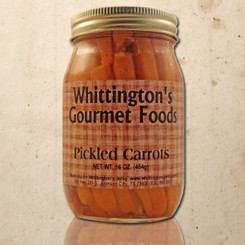 Whittington's Gourmet Foods - Pickled Carrots