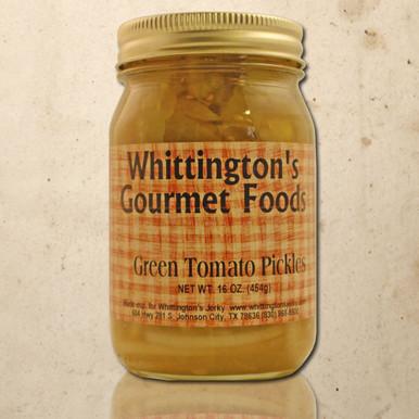 Whittington's Gourmet Foods - Green Tomato Pickles
