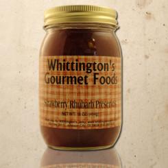 Whittington's Gourmet Foods - Strawberry Rhubarb Preserves