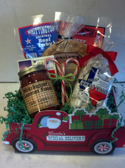 Santa's Special Delivery Basket - unwrapped