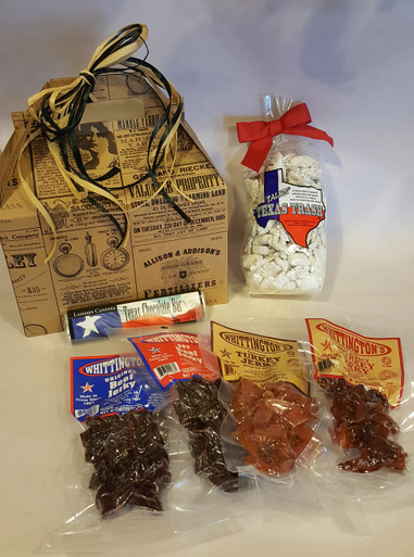 Old Fashioned Texas Treat Box - contents