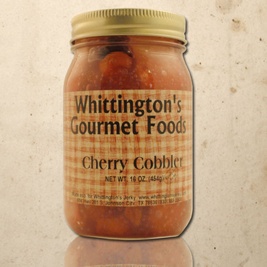 Whittington's Jerky Gourmet Foods - Cherry Cobbler