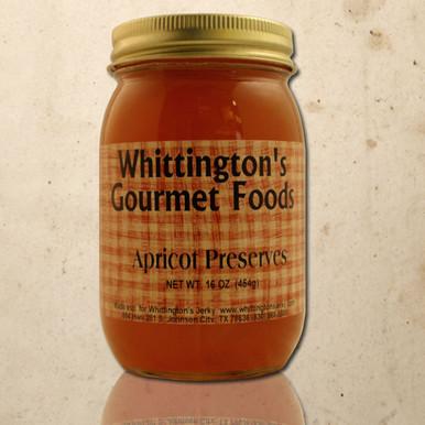 Whittington's Gourmet Foods - Apricot Preserves (seasonal)