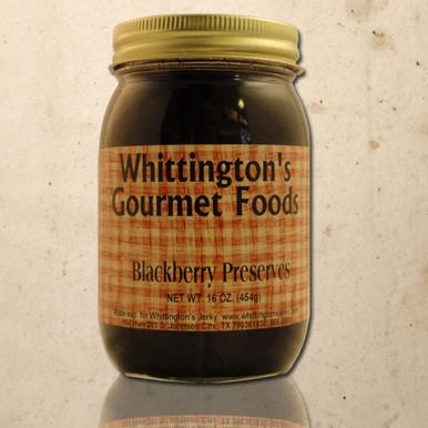 Whittington's Gourmet Foods - Blackberry Preserves