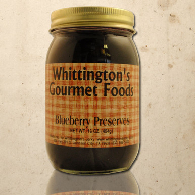 Whittington's Gourmet Foods - Blueberry Preserves