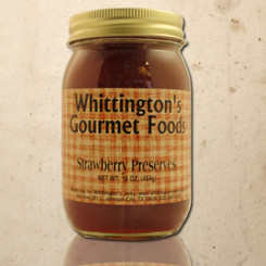 Whittington's Gourmet Foods - Strawberry Preserves