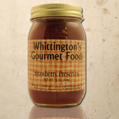 Whittington's Gourmet Foods - Strawberry Preserves