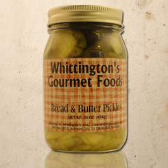 Whittington's Gourmet Foods - Bread & Butter Pickles