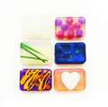 Our handcrafted glycerin soaps are each uniquely designed and highly fragranced.  Glycerin is a humectant that draws moisture to the skin without stripping the natural oils .  Our soaps are not only a beautiful addition to your bath, but a wonderful moisturizing cleanser for your precious skin.