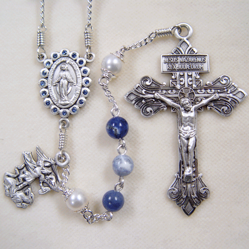 woman's rosary, rosary for a woman