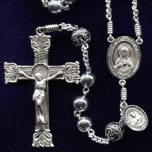 Sterling Silver Rosary, all sterling