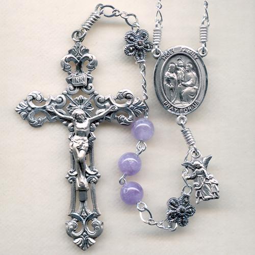 Cape Amethyst Rosary