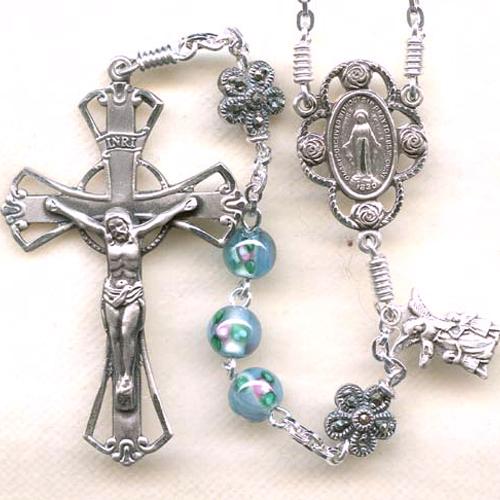 Czech Lampwork Rosary