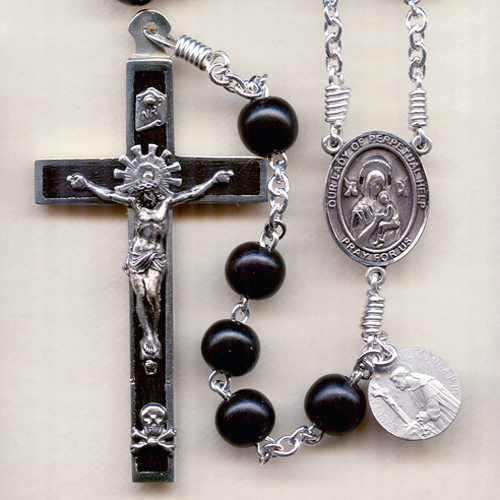 Ebony Wood Rosary