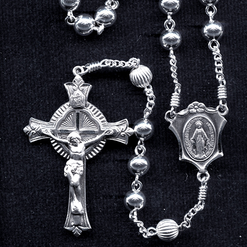 All Sterling Silver Rosary