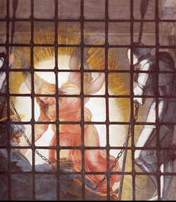 Angel rescues St. Peter from prison