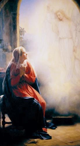 Annunciation, angel gabriel