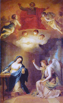 Annunciation, angel gabriel