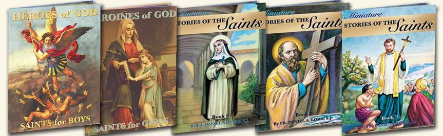 catholic children's books, saint books, books for kids