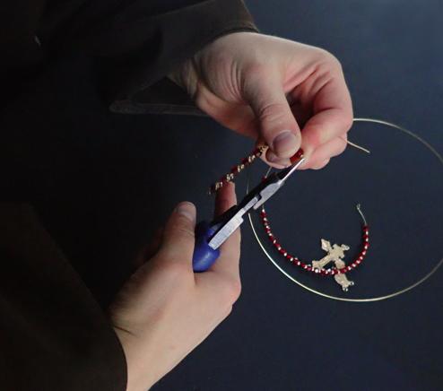 handmade rosary links