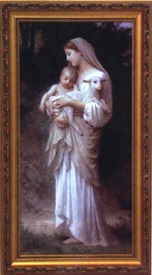 Framed Religious Artwork