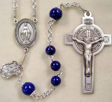 Lapis rosary