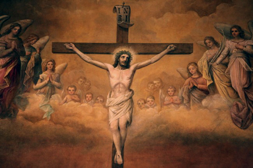 Christ Crucified, Crucifixion