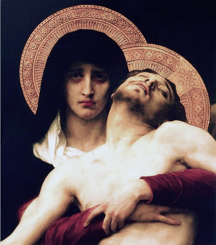 Our Lady of Sorrows, Christ is taken down from the Cross