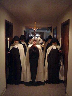 carmelite procession