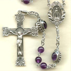 Amethyst Rosary