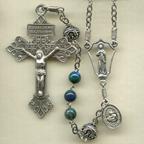Azurite Malachite Rosary